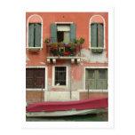 Canal de Venecia Tarjeta Postal