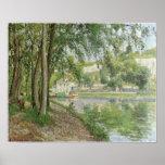 Canal du Loing 1902 de Camille Pissarro - de Moret Impresiones