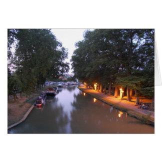 Canal Du Midi, Castelnaudary Card