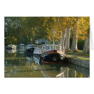 Canal du Midi Francia Felicitaciones