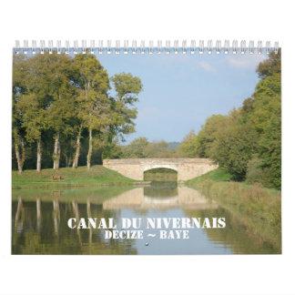 Canal du Nivernais 2016 Calendarios
