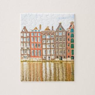Canal en Amsterdam Puzzle