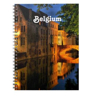 Canal en Bélgica Libros De Apuntes