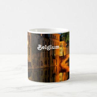 Canal en Bélgica Taza De Café