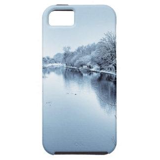 Canal en invierno iPhone 5 funda