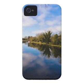 Canal en Kintbury iPhone 4 Case-Mate Cobertura