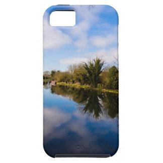 Canal en Kintbury iPhone 5 Case-Mate Carcasa