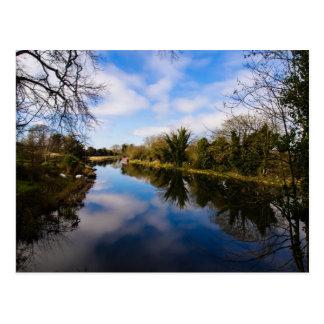 Canal en Kintbury Postal
