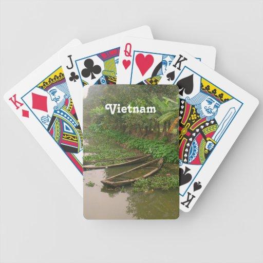 Canal en Vietnam Baraja Cartas De Poker