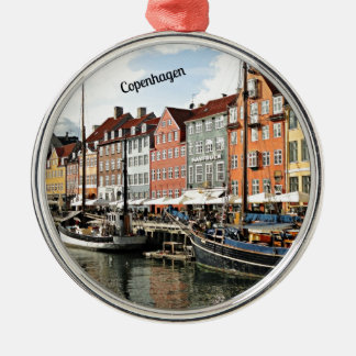Canal escénico en Copenhague Ornamento De Reyes Magos