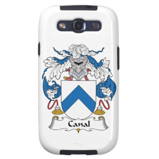 Canal Family Crest Galaxy S3 Cases