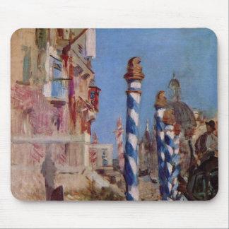 Canal grande en Venecia - Eduardo Manet Tapete De Ratones