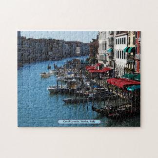 Canal grande, Venecia, Italia Rompecabezas Con Fotos