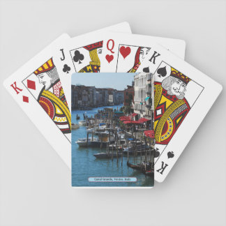 Canal Grande, Venice, Italy Playing Cards
