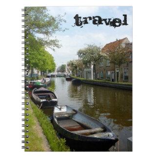 Canal holandés libreta espiral