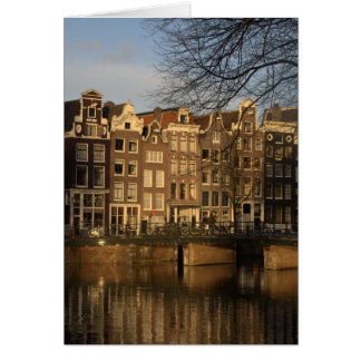 Canal houses card