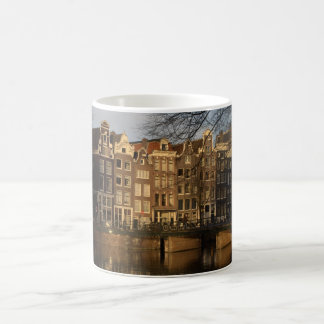 Canal houses coffee mug