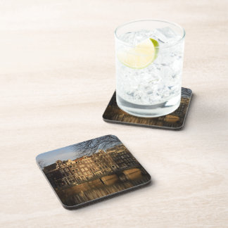 Canal houses drink coaster