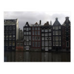 Canal houses in Amsterdam Postcard