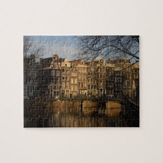 Canal houses jigsaw puzzle