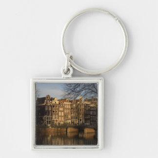 Canal houses keychain
