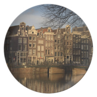 Canal houses plate