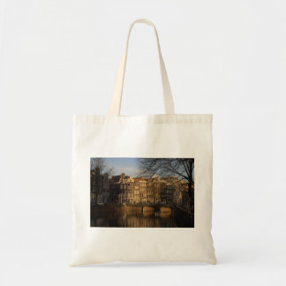 Canal houses tote bag