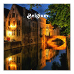 Canal in Belgium Card