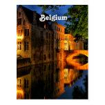 Canal in Belgium Postcard