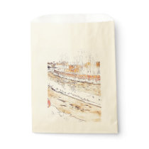 Canal in Snow Timber Chute Favor Bag