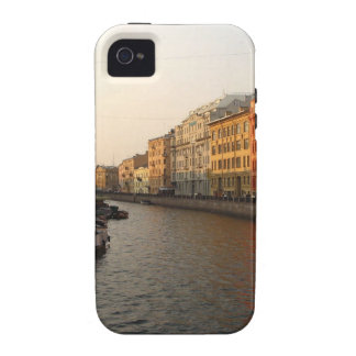 Canal in st Petersburg, Russia iPhone 4 Cover
