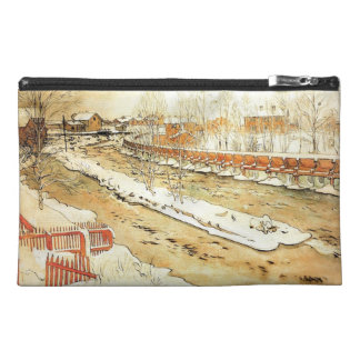 Canal in the Snow Travel Accessories Bags