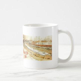 Canal in the Winter Coffee Mug
