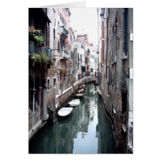 Canal in Venice Card