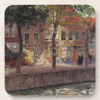 Canal in Zeeland by Emile Claus Coaster