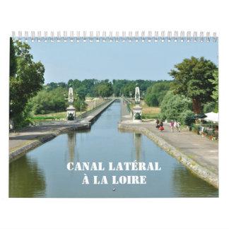 Canal Lateral a la Loire 2016 Calendar