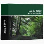 Canal, libro de la foto - verde oscuro (los 2.0in)
