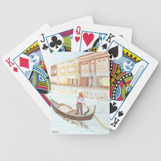 Canal Life Bicycle Playing Cards
