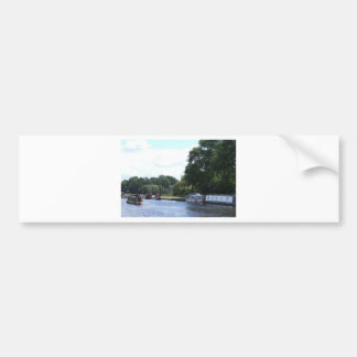 Canal Life Bumper Sticker