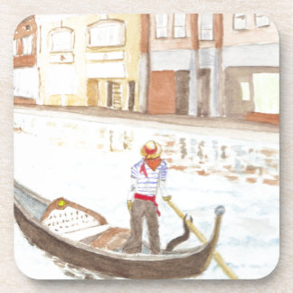 Canal Life Drink Coaster