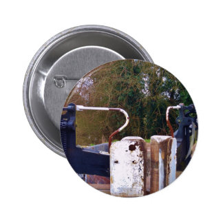 Canal Lock Gate Pinback Buttons