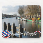 Canal Mousepad del Frisian de Fryslân Boppe Tapete De Ratón