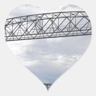 Canal Park Aerial Lift Bridge Heart Sticker