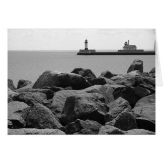 Canal Park in Duluth, MN Card
