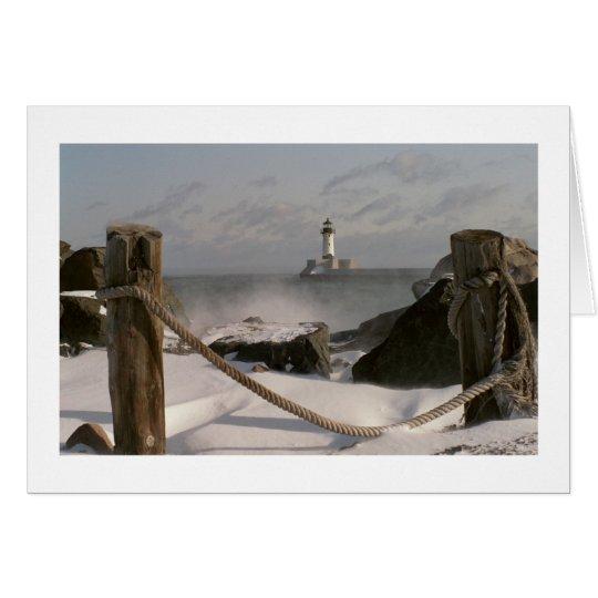 Canal Park Lighthouse Card