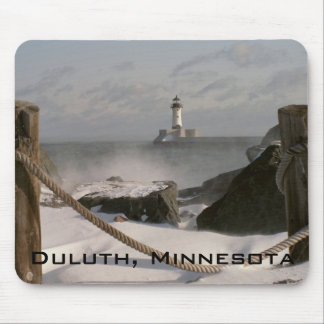 Canal Park Lighthouse Mouse Pads