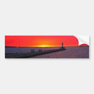 Canal Park Sunrise Bumper Sticker