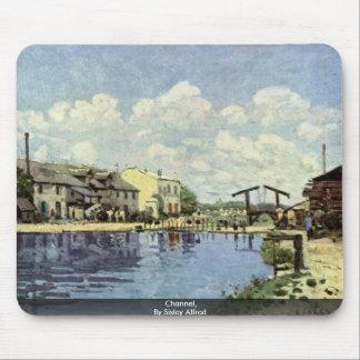 Canal, por Sisley Alfred Alfombrillas De Ratón