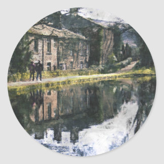 Canal Reflections Classic Round Sticker