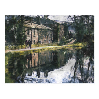 Canal Reflections Postcard
